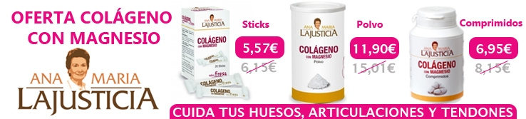 Oferta Colageno magnesio ana maria lajusticia herbolario online