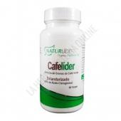 Cafel�der extracto de caf� verde Naturlider 60 c�psulas - Cafel�der de Naturlider es un suplemento a base de extracto de granos de caf� verde estandarizado y 400 mg. de caf� verde por c�psula (800 mg. por la toma de 2 c�psulas).