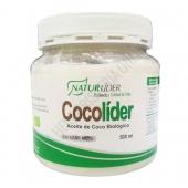 CocoLider Aceite de Coco Biol�gico Naturlider 500 ml. - CocoLider de Naturlider es aceite de Coco 100% BIO (de cultivo Biol�gico Controlado) ideal como aceite para untar y para ali�ar ensaladas.