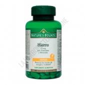 Hierro 15 mg. con vitaminas y minerales Natures Bounty 100 comprimidos -