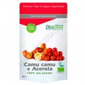 Camu Camu Acerola Raw 100% Polvo crudo BIO Biotona 200 gr.