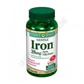 Gentle Iron Natures Bounty 90 c�psulas - Gentle Iron contiene Bis-glicinato Ferroso (fuente de hierro de gran biodisponibilidad y buena tolerancia) mejorado con �cido f�lico de alta potencia, vitamina C y vitamina B-12.