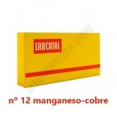 Labcatal 12 Manganeso Cobre 28 ampollas -