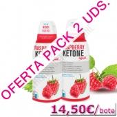OFERTA 2 uds. Raspberry Ketone L�quido Biocol 500 ml. - Raspberry Ketone Liquid es una formulaci�n a base de Cetona de Frambuesa en forma l�quida que permite una mayor disponibilidad y mayor rapidez de absorci�n. PRODUCTO EN STOCK. Entrega 24-48 h. en pen�nsula.