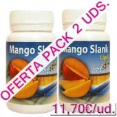 OFERTA 2 uds. Mango Slank Lipd mango africano Espa Diet 60 c�psulas - OFERTA Mango africano pack 2 uds. Mango Slank Lipd (La unidad sale a 11,70�).