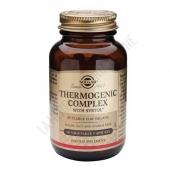 Thermogenic Complex a base de Caf� Verde Solgar 60 c�psulas - Thermogenic Complex de Solgar es una formulaci�n a base de Svetol� (extracto de caf� verde no tostado con menos del 2% de cafe�na), Biperine� y Chromax�.