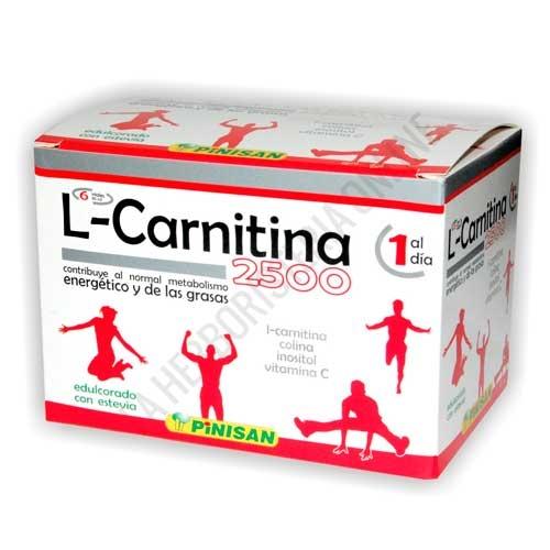 L-Carnitina 2500 mg. líquida Pinisan 6 viales | PINISAN