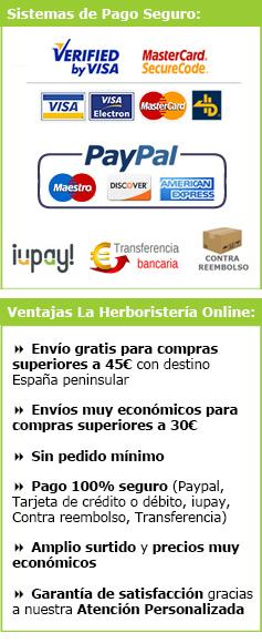 Pago seguro La Herboristeria Online