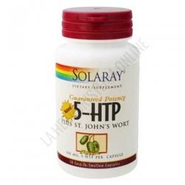 5HTP + St. Johns (Hipérico) Solaray 30 cápsulas