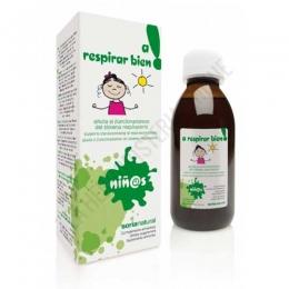 A Respirar Bien niñ@S jarabe Soria Natural 150 ml. -