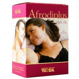 Afrodiplus estimulante para ella Tongil 40 cápsulas - PRODUCTO DESCATALOGADO POR EL LABORATORIO FABRICANTE.