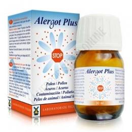 Alergot Plus Tegor gotas - Alergot Plus de Tegor, a base de Ovogenat, Helicriso y Grosellero negro, ayuda al organismo a normalizar su respuesta inmunitaria a las alergias provocadas por factores externos medioambientales.