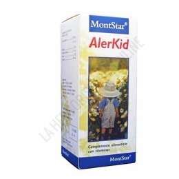 Alerkid jarabe infantil Alergia MontStar 250 ml. -