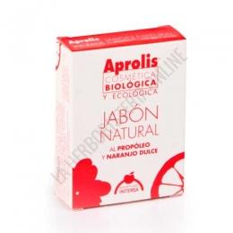Jabón Natural Aprolis al propóleo y naranja dulce Intersa 100 gr. -