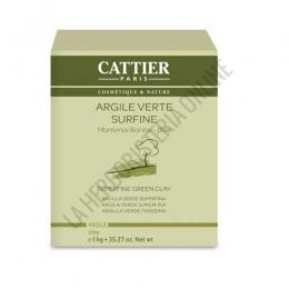 Arcilla verde superfina Cattier 1 kg.