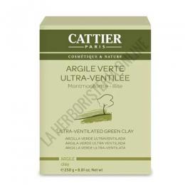 Arcilla verde ultra ventilada Cattier 250 gr.