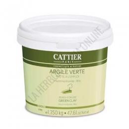 Arcilla verde lista para su uso Cattier cubo de 1,350 kg.