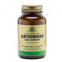 Artichoke extracto de hoja de alcachofa Solgar 60 cápsulas -