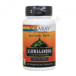 Ashwaganda Solaray 470 mg. 60 cápsulas -