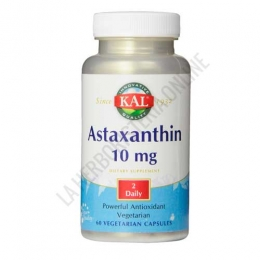 Astaxanthin 10 mg. KAL 60 cápsulas -