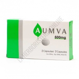 Aumva 600 mg. Prisma Natural 2 cápsulas