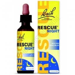 Rescue Night - Noches Apacibles Bach Original gotas 20 ml. - Rescue Night es una formulación a base de las 5 Flores de Bach originales del Remedio Rescate añadiendo el castaño blanco, que ayuda a disfrutar de un sueño reparador de manera natural sin crear dependencia.