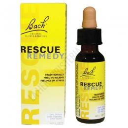 Rescue Remedy - Rescate Bach Original 10 ml. - Rescue Remedy es una selección de 5 Flores de Bach especialmente indicada para ayudar a mantener la calma y relajarse en situaciones de estrés, nervios de última hora (exámenes, entrevistas...) o secuelas ante un accidente o mala noticia.