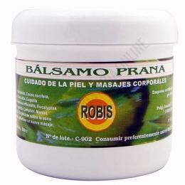 Bálsamo Prana Robis 500 cc. - El Bálsamo Prana de Robis es un eficaz ungüento a base de esencias de Clavo, Eucalipto, Menta y Romero cuyos principios activos naturales ayudan de forma sorprendente a aliviar dolores localizados y actúa también como balsámico de las vías respiratorias.