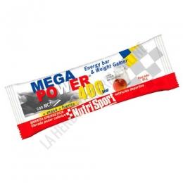 Barrita Mega Power 400 Kcal. Nutrisport sabor yogur melocotón 85 gr.