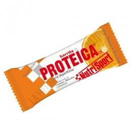 Barrita Proteica Nutrisport sabor naranja y chocolate 46 gr.