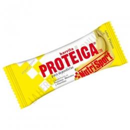 Barrita Proteica Nutrisport sabor plátano 46 gr.
