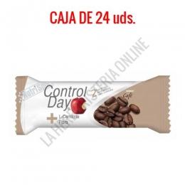 Barritas sustitutivas ControlDay NutriSport sabor café caja de 24 uds. - Las Barritas ControlDay Nutrisport resultan ideales como sustitutivas de una comida aportando todos los nutrientes necesarios y en las cantidades adecuadas para ayudarte a controlar tu peso de manera saludable.