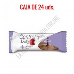Barritas sustitutivas ControlDay NutriSport sabor chocolate caja de 24 uds.