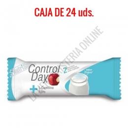 Barritas sustitutivas ControlDay NutriSport sabor yogurt caja de 24 uds.
