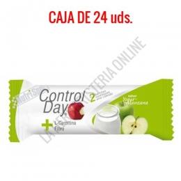 Barritas sustitutivas ControlDay NutriSport sabor yogurt manzana caja de 24 uds.