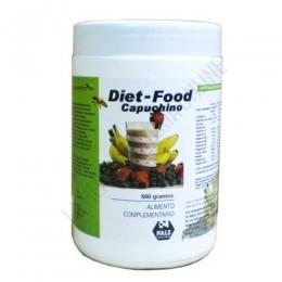 Batido Diet Food sustitutivo comida sabor Capuccino Nale 500 gr. -