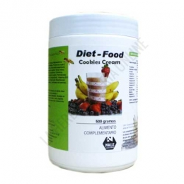 Batido Diet Food sustitutivo comida sabor Cookies Cream Nale 500 gr. -
