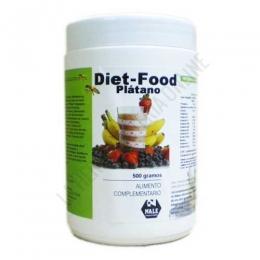 Batido Diet Food sustitutivo comida sabor Plátano Nale 500 gr. -