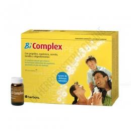 Bi Complex resfriados Herbora 20 ampollas - Bi Complex de Herbora es una formulación específica que contribuye a estimular el sistema inmunológico del organismo, especialmente útil en caso de resfriados, gripes y catarros.