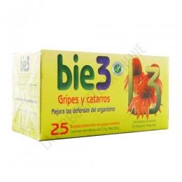 BIE 3 infusión Gripes y Catarros 25 bolsitas -