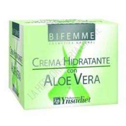 Crema facial hidratante de Aloe Vera Ynsadiet 50 ml.