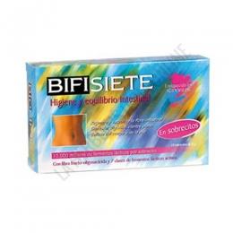 Bifisiete Tongil 10 sobres - Fórmula completa a base de probióticos estabilizados (fermentos lácticos activos) y prebióticos (fibra).
