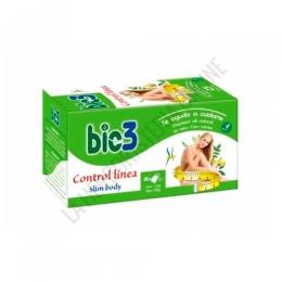 Bie 3 Control línea 25 infusiones Bio 3 - Bio 3 Control Línea es una formulación específica de plantas especialmente indicada para complementar dietas de control de peso contribuyendo a eliminar líquidos, grasas y toxinas, tomada de forma habitual.
