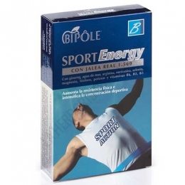 Bipole Sport Energy Intersa 20 ampollas -
