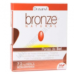 Bronze Natural Drasanvi 30 perlas -