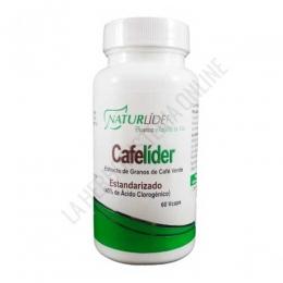 Cafelíder extracto de café verde Naturlider 60 cápsulas - Cafelíder de Naturlider es un suplemento a base de extracto de granos de café verde estandarizado y 400 mg. de café verde por cápsula (800 mg. por la toma de 2 cápsulas).