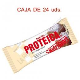 Caja 24 barritas Proteicas Nutrisport sabor toffee 46 gr. -