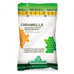 Caramelos sin azúcar Hierbas Silvestres y Propolis Epid Specchiasol 20 uds. -