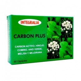 Carbón Plus Integralia 60 cápsulas -