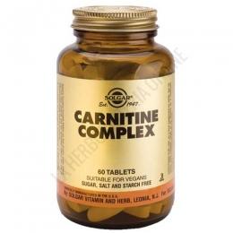 Carnitina Complex Solgar 60 comprimidos - Carnitine Complex de Solgar aporta 500 mg. de L-Carnitina por dosis diaria de 2 comprimidos.